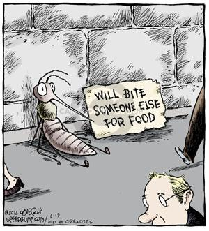 Comic Strip Dave Coverly  Speed Bump 2014-06-19 money