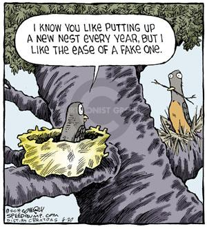 Comic Strip Dave Coverly  Speed Bump 2014-06-20 ease