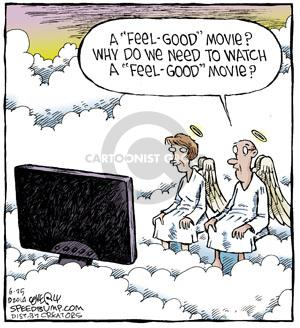 Comic Strip Dave Coverly  Speed Bump 2014-06-25 movie genre