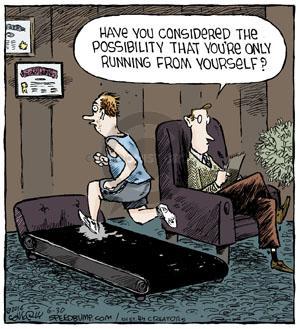 Comic Strip Dave Coverly  Speed Bump 2014-06-30 tread