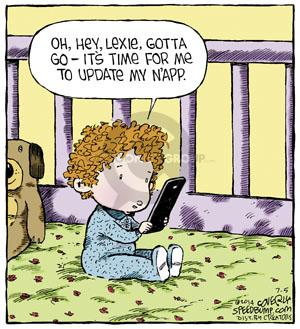 Comic Strip Dave Coverly  Speed Bump 2014-07-05 app