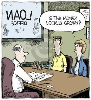 Comic Strip Dave Coverly  Speed Bump 2014-07-14 money