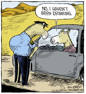 Comic Strip Dave Coverly  Speed Bump 2014-07-16 while