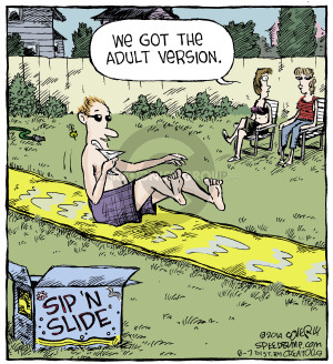 Comic Strip Dave Coverly  Speed Bump 2014-08-07 get