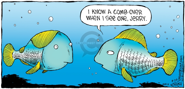 Comic Strip Dave Coverly  Speed Bump 2014-08-24 fish