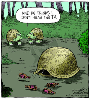 Comic Strip Dave Coverly  Speed Bump 2014-08-19 solitary