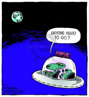 Comic Strip Dave Coverly  Speed Bump 2014-08-26 road trip