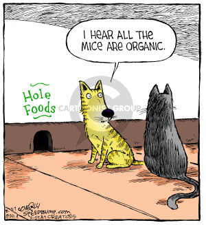 Comic Strip Dave Coverly  Speed Bump 2014-08-27 grocery store