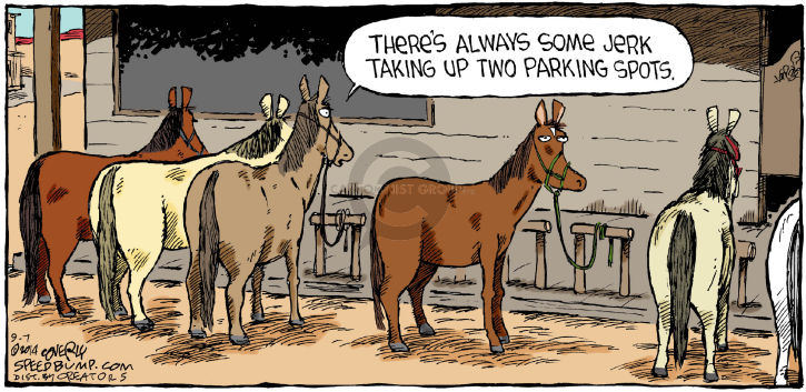 Comic Strip Dave Coverly  Speed Bump 2014-09-07 West