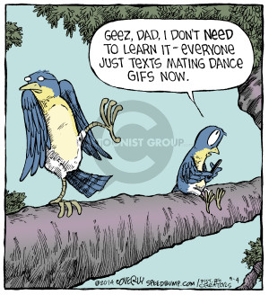 Comic Strip Dave Coverly  Speed Bump 2014-09-04 mating
