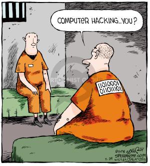 Cartoonist Dave Coverly  Speed Bump 2014-09-24 criminal