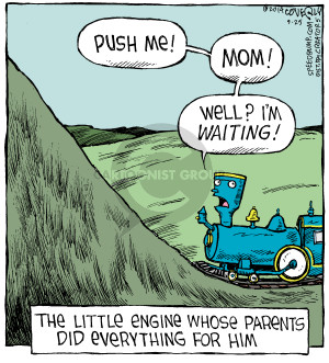 Comic Strip Dave Coverly  Speed Bump 2014-09-25 spoil