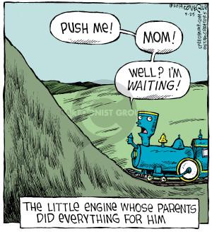 Cartoonist Dave Coverly  Speed Bump 2014-09-25 engine