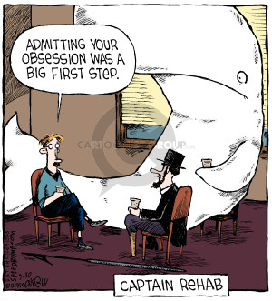Comic Strip Dave Coverly  Speed Bump 2014-09-30 obsession