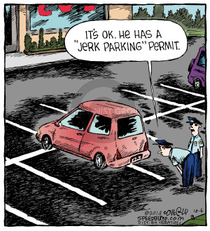 Comic Strip Dave Coverly  Speed Bump 2014-10-06 plate