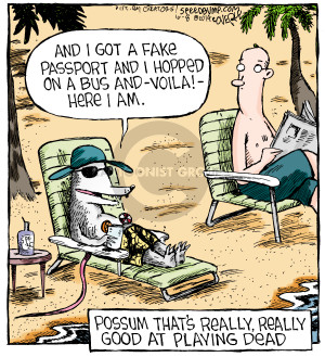 Comic Strip Dave Coverly  Speed Bump 2014-10-08 fake