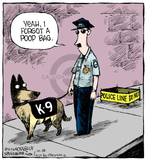 Comic Strip Dave Coverly  Speed Bump 2014-10-24 poop