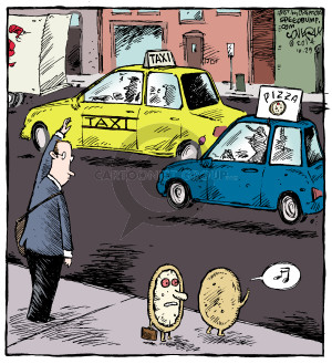 Comic Strip Dave Coverly  Speed Bump 2014-10-29 delivery
