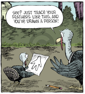 Comic Strip Dave Coverly  Speed Bump 2014-11-05 feather