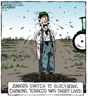 Comic Strip Dave Coverly  Speed Bump 2014-11-08 electronic