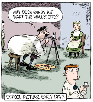 Comic Strip Dave Coverly  Speed Bump 2014-11-12 school