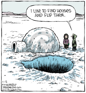 Comic Strip Dave Coverly  Speed Bump 2014-11-18 house