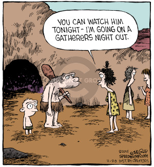 Comic Strip Dave Coverly  Speed Bump 2014-11-20 cave
