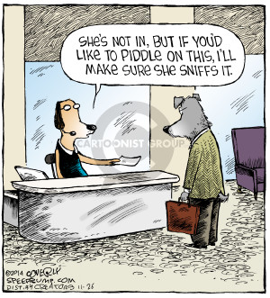 Comic Strip Dave Coverly  Speed Bump 2014-11-26 message