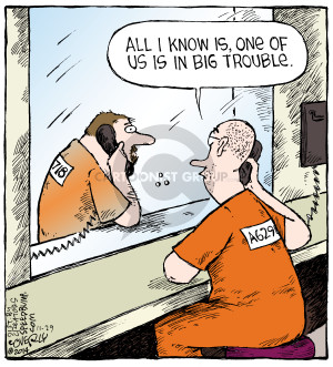Comic Strip Dave Coverly  Speed Bump 2014-11-29 inmate