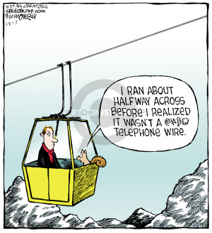 Comic Strip Dave Coverly  Speed Bump 2014-12-01 aerial