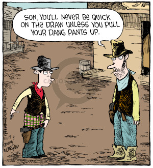 Comic Strip Dave Coverly  Speed Bump 2014-12-03 dang