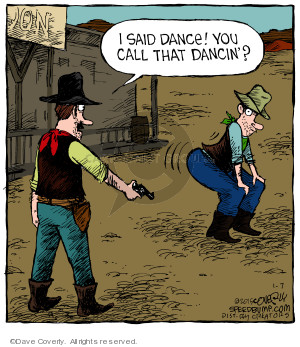 Comic Strip Dave Coverly  Speed Bump 2015-01-07 dance