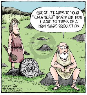 Cartoonist Dave Coverly  Speed Bump 2015-01-12 invention