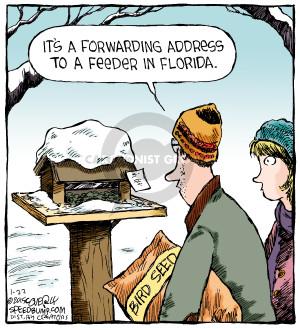 Cartoonist Dave Coverly  Speed Bump 2015-01-22 forward