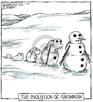 Comic Strip Dave Coverly  Speed Bump 2015-01-24 evolution