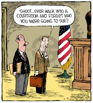 Cartoonist Dave Coverly  Speed Bump 2015-02-09 lawyer