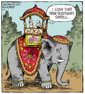 Comic Strip Dave Coverly  Speed Bump 2015-02-11 scent