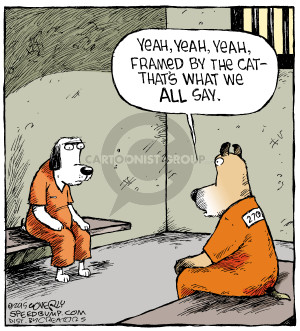 Comic Strip Dave Coverly  Speed Bump 2015-02-12 inmate