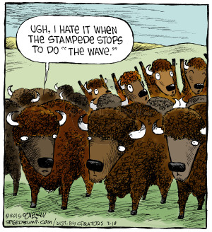 Comic Strip Dave Coverly  Speed Bump 2015-03-10 bison