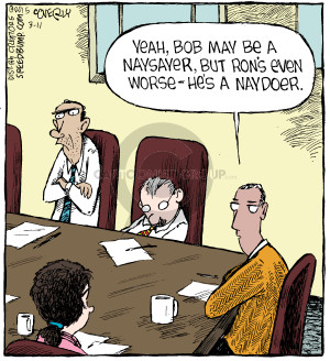 Cartoonist Dave Coverly  Speed Bump 2015-03-11 business