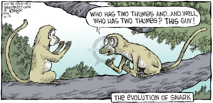 Comic Strip Dave Coverly  Speed Bump 2015-03-15 evolution