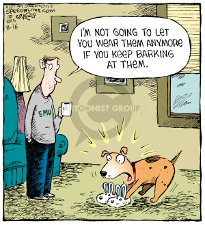 Comic Strip Dave Coverly  Speed Bump 2015-03-16 anymore
