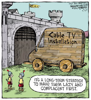 Comic Strip Dave Coverly  Speed Bump 2015-03-27 strategy