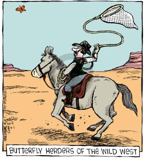 Cartoonist Dave Coverly  Speed Bump 2015-04-01 herd