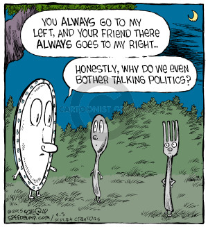 Comic Strip Dave Coverly  Speed Bump 2015-04-03 plate