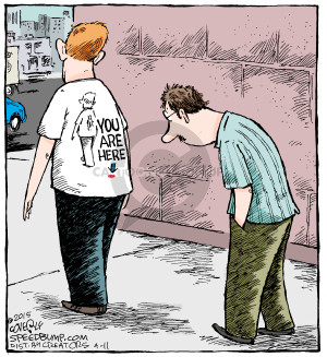 Comic Strip Dave Coverly  Speed Bump 2015-04-11 shirt