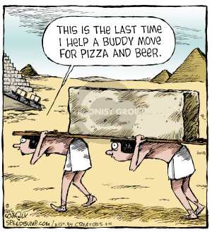 Comic Strip Dave Coverly  Speed Bump 2015-04-16 beer