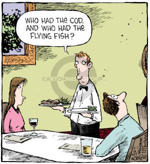 Comic Strip Dave Coverly  Speed Bump 2015-05-01 dish