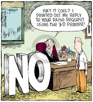 Comic Strip Dave Coverly  Speed Bump 2015-05-06 3-D printer