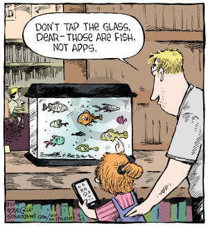 Comic Strip Dave Coverly  Speed Bump 2015-05-23 app
